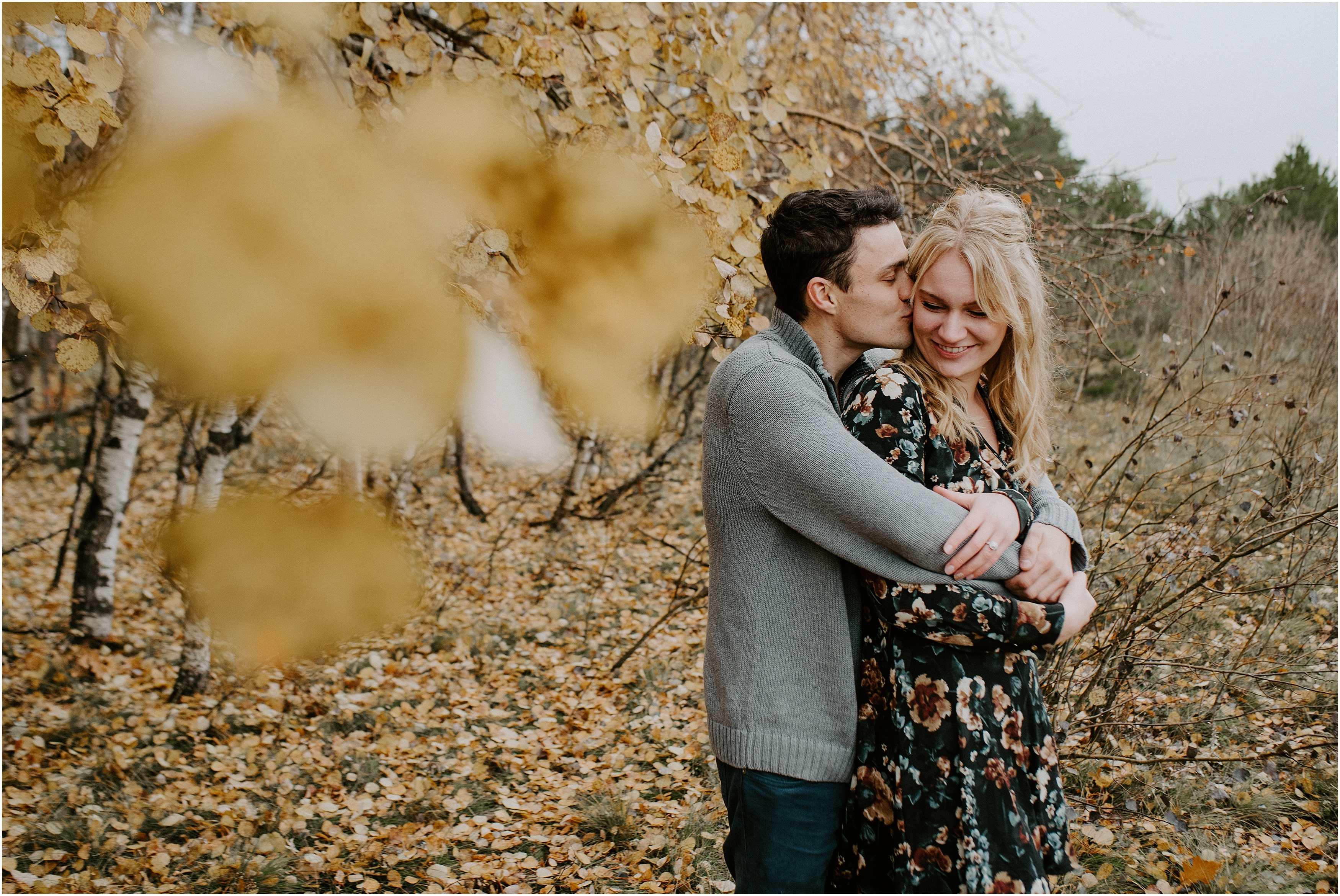 Birds Hill Manitoba Engagement Photographer of Brianna and Nic