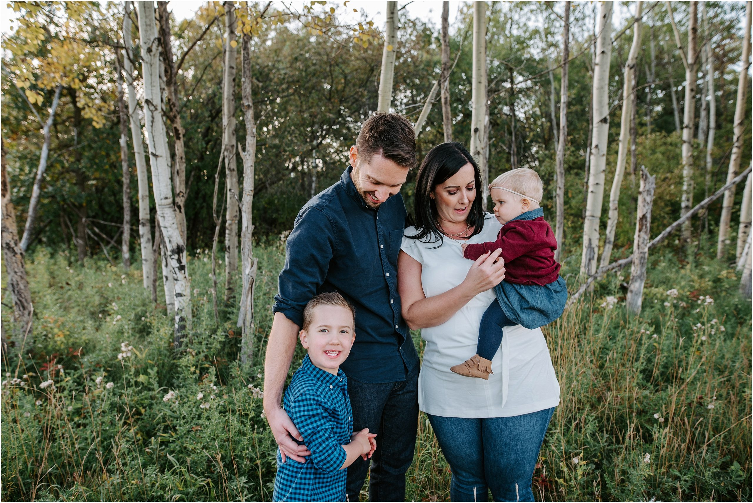 Winnipeg Family Photographer at the Living Prairie Museum of the Friesen family
