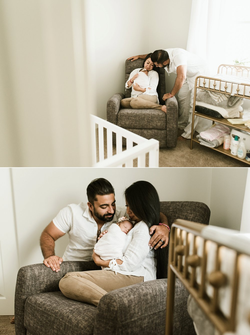 Winnipeg newborn session and photographer of baby Seva Lee